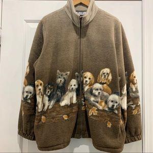Vintage Blair Dog Fleece Sweater